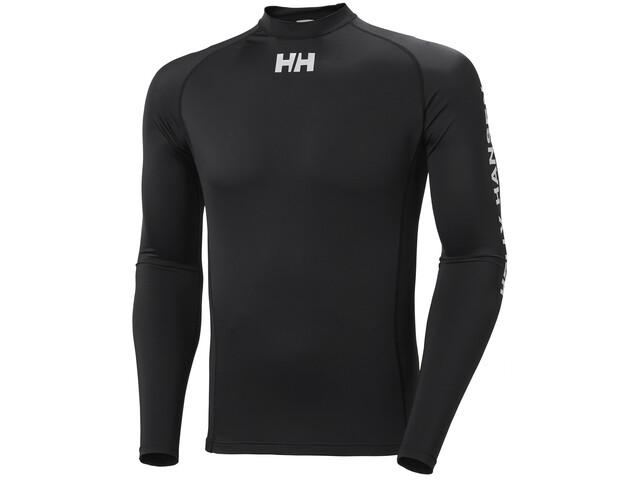 Helly Hansen Waterwear Rashguard Long Sleeve Shirt Men, zwart